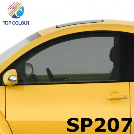 Tinted Dyed Window Privacy Film SP207 - Dyed SP207 sun control film