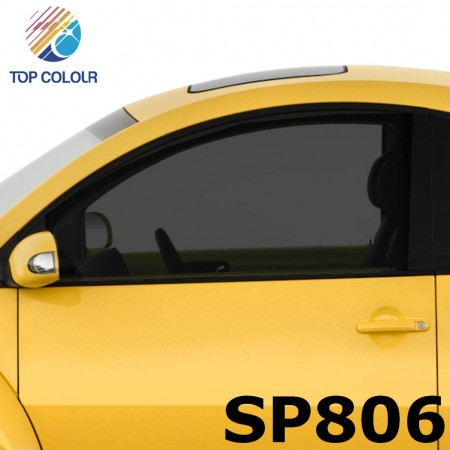 فیلم پنجره اتومبیل رنگی رنگی SP806 - فیلم کنترل خورشید رنگی SP806