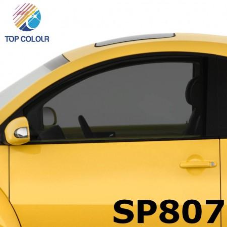 فیلم پنجره اتومبیل رنگی رنگی SP807 - فیلم کنترل خورشید رنگی SP807