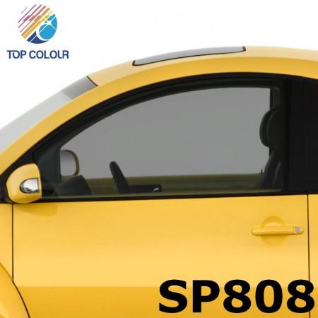 فیلم پنجره اتومبیل رنگی رنگی SP808 - فیلم کنترل آفتاب رنگی SP808