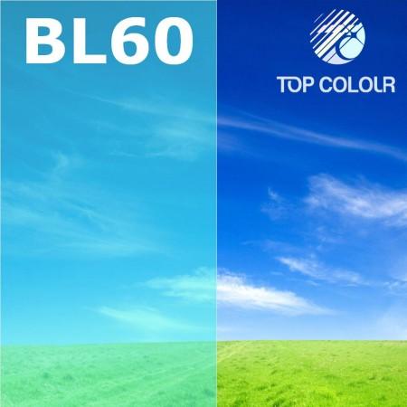 چسب فیلم پنجره رنگی آبی 65٪