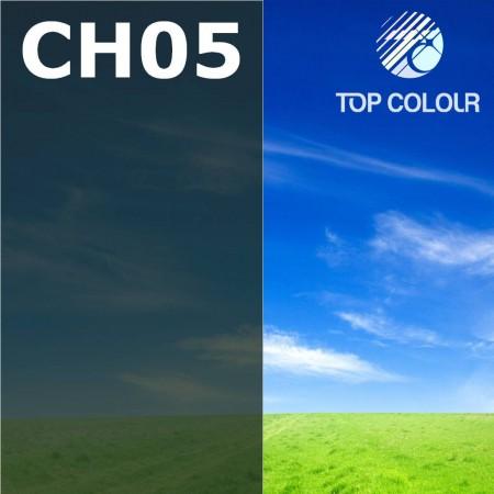 Glue tinted window film CHARCOAL 5% - Tinted sun control film CH05