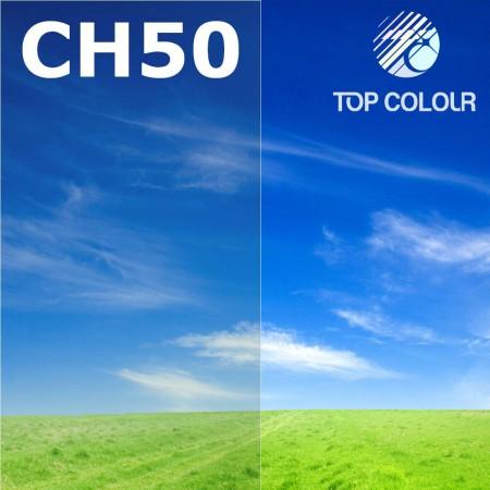 Glue tinted window film CHARCOAL 50%