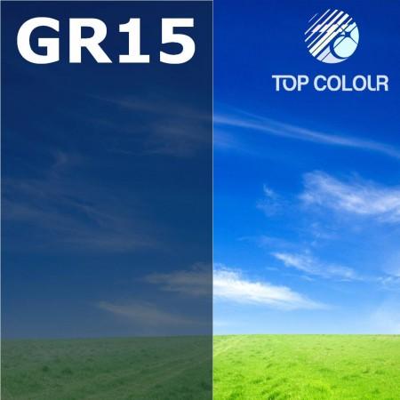 Glue tinted window film GREY 20% - Tinted sun control film GR15