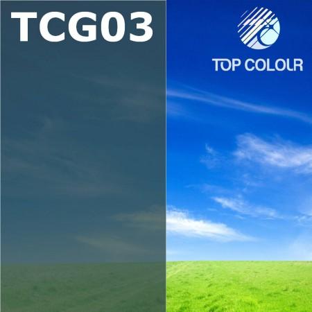 Glue tinted window film TOP CHARCOAL GREEN 3%