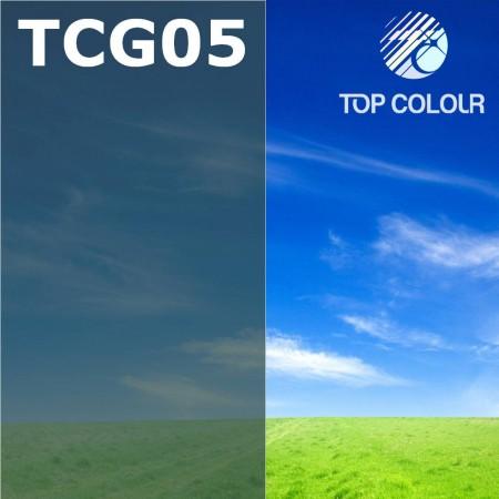 Glue tinted window film TOP CHARCOAL GREEN 8%