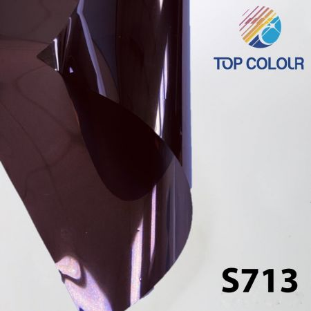 Kaca film reflektif S713 - Film kontrol matahari reflektif