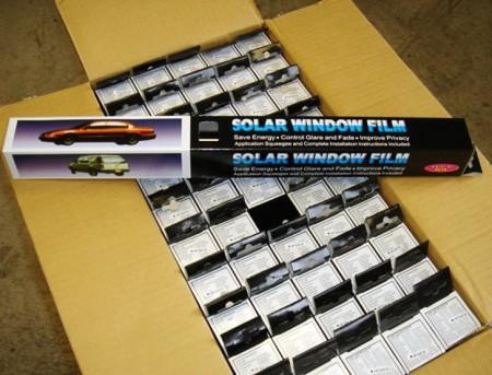 DIY TINT FILM KIT Customize color box & packing