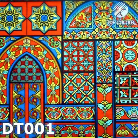 Цифровой декоративный      оконная пленка - Цифровая декоративная пленка DT001