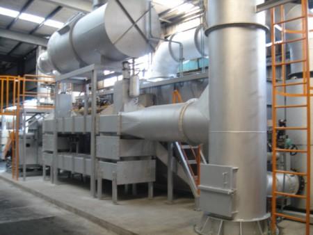 Peralatan perlindungan lingkungan pabrik kaca film