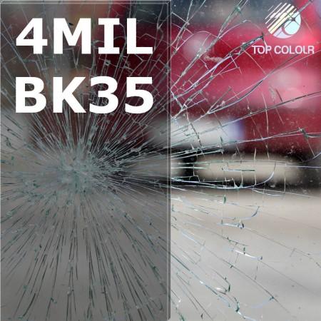 Safety window film SRCBK35-4MIL