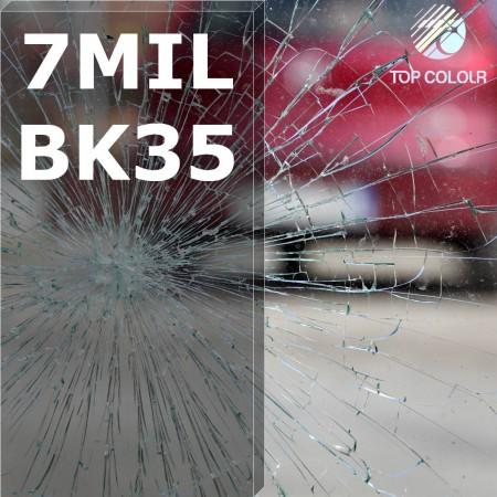 Safety window film SRCBK35-7MIL