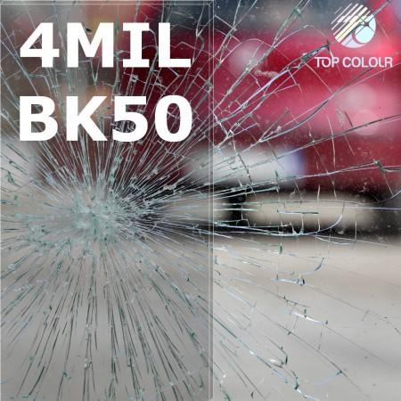 Safety window film SRCBK50-4MIL