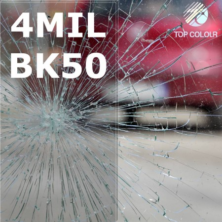 Safety window film SRCBK50-4MIL - Safety window film SRCBK05-4MIL