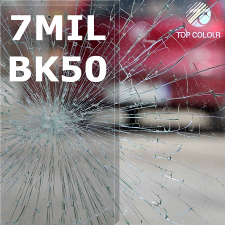 Safety window film SRCBK50-7MIL - Safety window film SRCBK05-7MIL