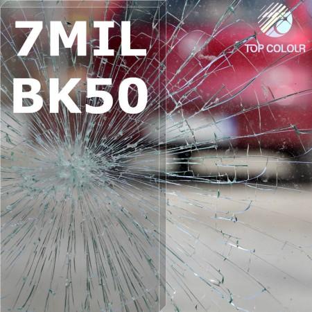 Safety window film SRCBK50-7MIL