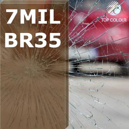 Безопасность оконная пленка SRCBR35-7MIL