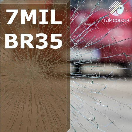 فيلم تظليل النوافذ الآمن SRCBR35-7MIL - فيلم تظليل النوافذ الآمن SRCBR35-7MIL