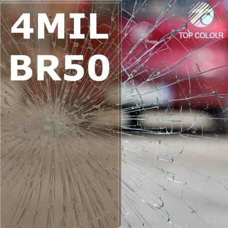 Безопасность оконная пленка SRCBR50-4MIL