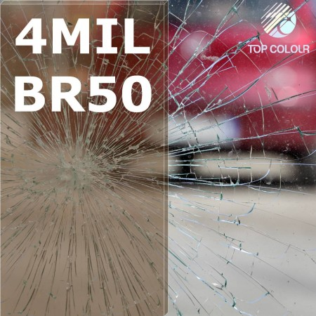 Safety window film SRCBR50-4MIL