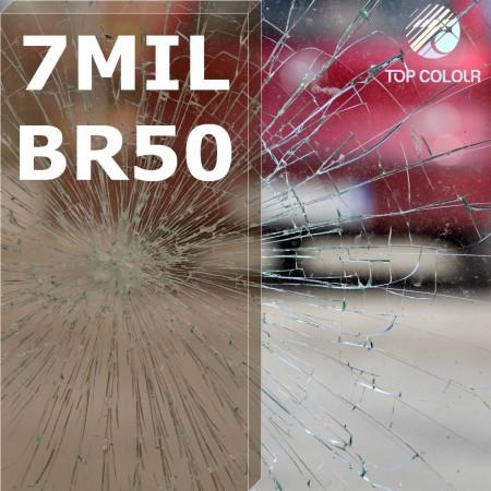 Safety window film SRCBR50-7MIL