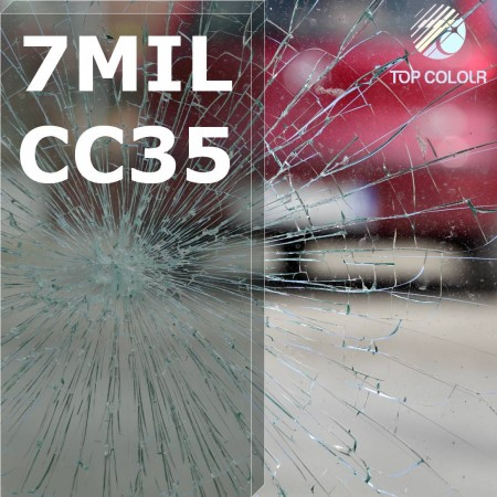 Safety window film SRCCC35-7MIL - Safety window film SRCCC35-7MIL
