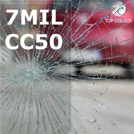 فيلم تظليل النوافذ الآمن SRCCC50-7MIL - فيلم تظليل النوافذ الآمن SRCCC50-7MIL