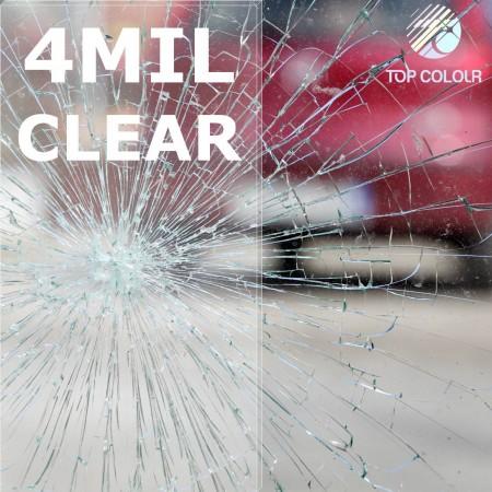 Safety window film SRCS100-4MIL