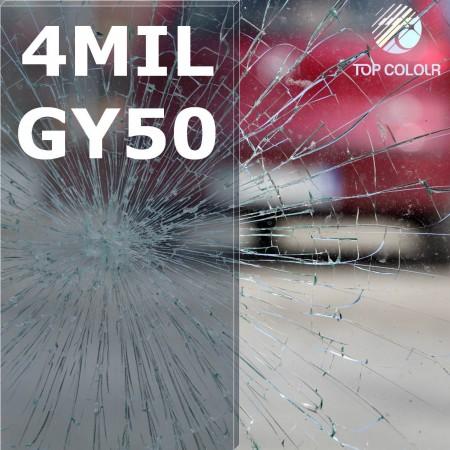 Safety window film SRCGY50-4MIL