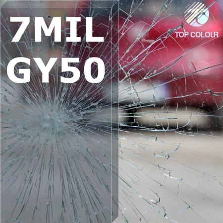 فيلم تظليل النوافذ الآمن SRCGY50-7MIL - فيلم تظليل النوافذ الآمن SRCGY50-7MIL