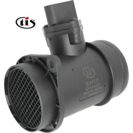 アウディ用エアフローメーターMAFセンサー0281002216 - マスエアフローメーターMAFセンサー0281002216、0281002217、0986284001アウディA6 / VWゴルフIV /シュコダオクタビアIハッチバックに適合