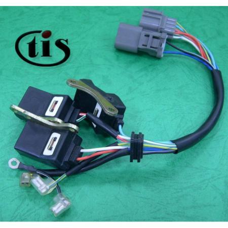 تسخير الأسلاك لموزع الإشعال TD60U - تسخير الأسلاك لموزع هوندا Prelude TD60U