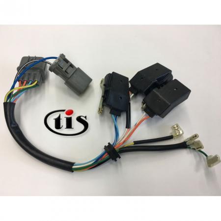 इग्निशन वितरक के लिए वायर हार्नेस TD61U-2P8P - होंडा प्रस्तावना वितरक TD61U-2P8P . के लिए वायर हार्नेस