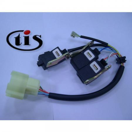 इग्निशन वितरक के लिए वायर हार्नेस TD02U - Honda CRX डिस्ट्रीब्यूटर TD02U के लिए वायर हार्नेस