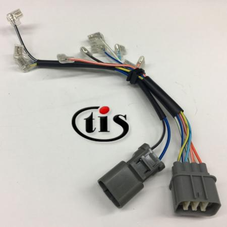 Wire Harness for Ignition Distributor D4T9204 2P-7P - Wire Harness for Honda Accord Distributor D4T9204 2P-7P