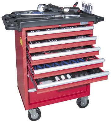 Tool Storage Set, Tool Trolley Set