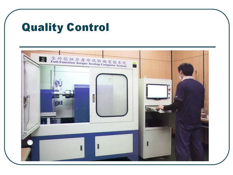 K.W.G. products have been tested the quality exceeds ISO, DIN, JIS and ANSI standard.