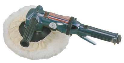 "7"" Air Angle Polisher (2,500rpm) - 7"" Pneumatic Angle Polisher"