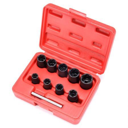 "10pcs 3/8"" Dr. Twist Socket Set - 10pcs 3/8"" Dr. Twist Socket Set"