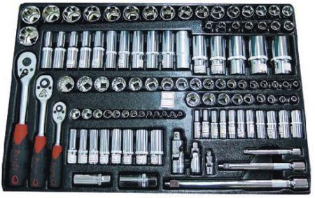 "110pcs 1/2"", 3/8"", 1/4"" Dr. Socket Set - 110pcs 1/2"", 3/8"", 1/4"" Dr. Socket Set"