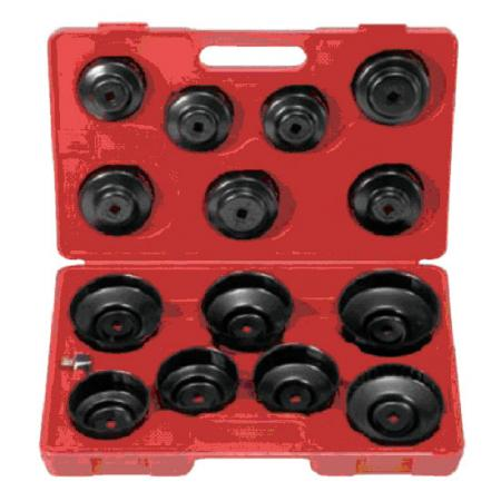 15pc Cup Type Oil Filter Wrench - 15pc Cup Type Oil Filter Wrench