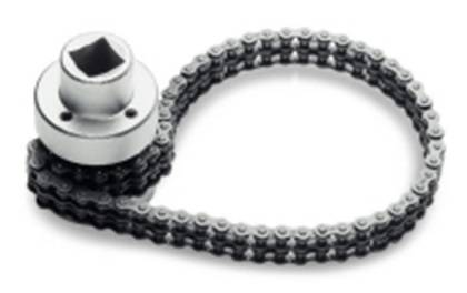 Oil Filter Wrench with Thin Double Chain - Oil Filter Wrench with Thin Double Chain