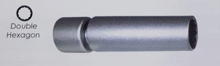 """3/8""""Dr. Extension Swivel Spark Plug Socket - 3/8Dr. Extension Swivel Spark Plug Socket"""