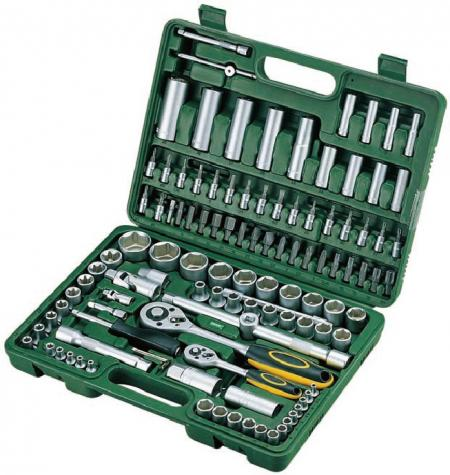 "114pcs 1/4""+1/2"" Dr. Socket Set"