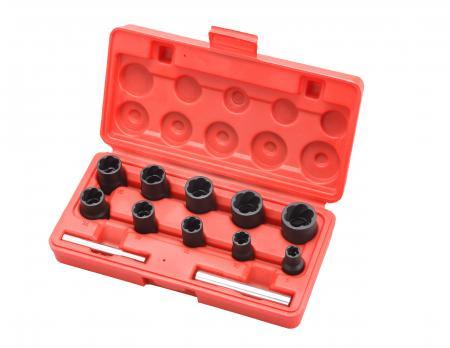 "12pcs 3/8""+1/2"" Dr. Twist Socket Set - 12pcs 3/8""+1/2"" Dr. Twist Socket Set"