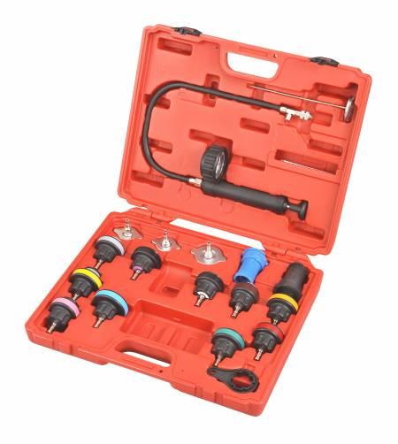 Universal Radiator Pressure Test Kit (18pcs) - 18pcs Universal Radiator Pressure Test Kit