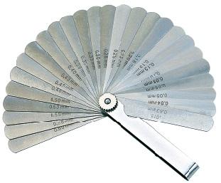 26 Blades Feeler Gauge