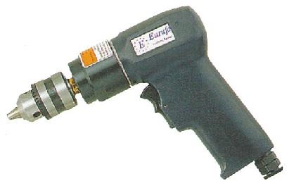 """3/8""""Industrial Air Drill (2,300rpm) - 3/8""""Air Reversible Drill"""