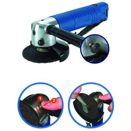 Воздушная дробилка - Пневматическая шлифовальная машина, Воздушная шлифовальная машина, Угловая шлифовальная машина