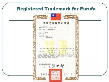 علامت تجاری Eurufa